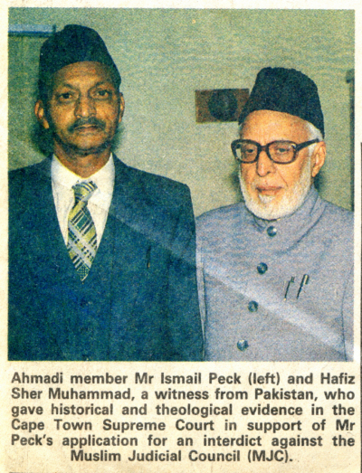 Ismail peck